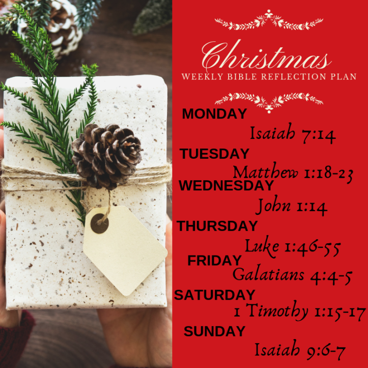 Bible Reading Plan - Christmas