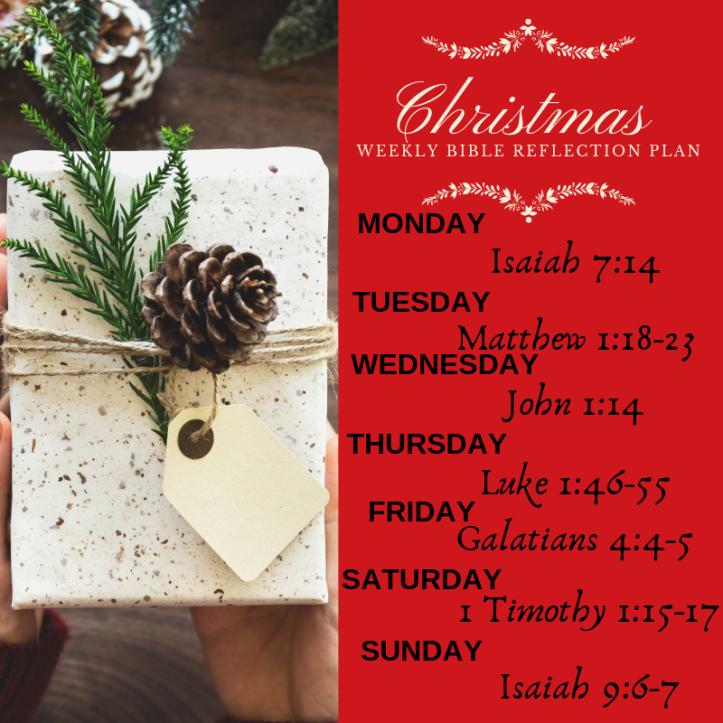 Bible Reading Plan - Christmas